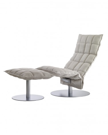 46017 narrow k ottoman / 46007 narrow swivel k chair