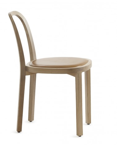 4410 Siro + Chair wood upholstered