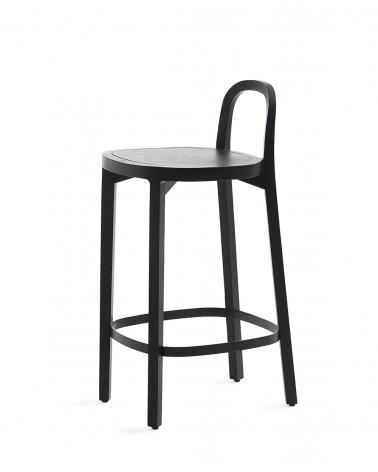Siro+ Bar Stool - Oak black 65