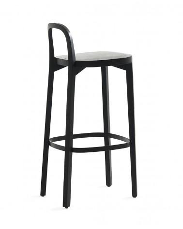 Siro+ Bar Stool - Oak black 75