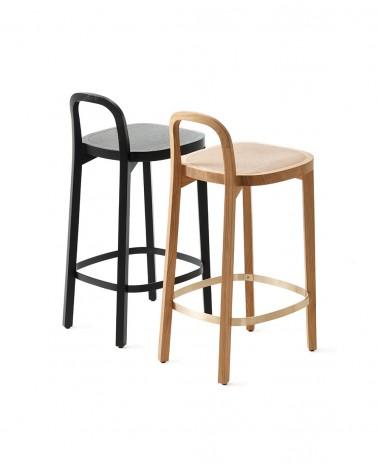 Siro+ Bar Stool - Oak  / Siro+ Bar Stool - Oak black