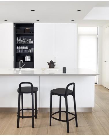 Siro+ Bar Stool - Oak black
