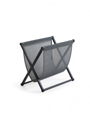 Plain - graphite - black oak frame