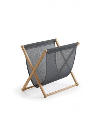 Plain - graphite - oak frame