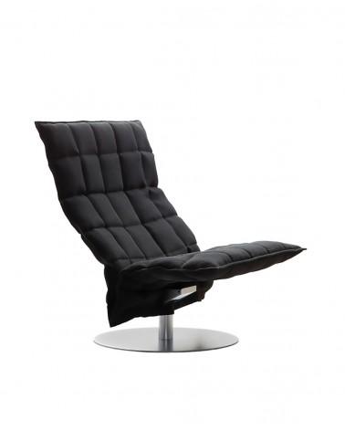 sand - black - 46005 wide swivel k chair