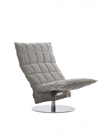 sand - stone black - 46005 wide swivel k chair