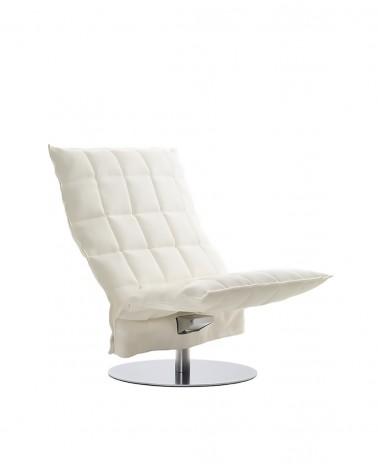 sand - white - 46005 wide swivel k chair