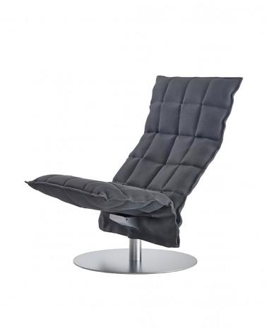 sand - graphite - 46007 narrow swivel k chair