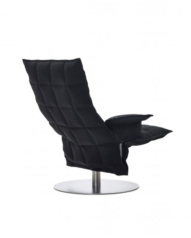 sand - black - 46009 swivel k chair with armrests